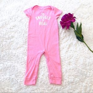 Carter's The Snuggle Is Real Romper